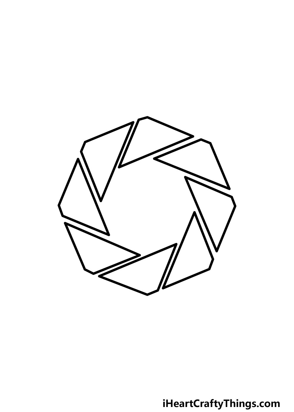drawing an octagon step 5