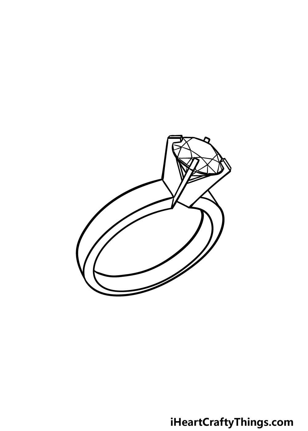 drawing a ring step 5