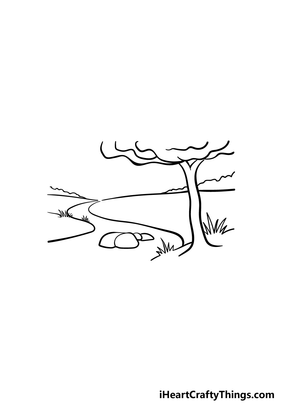 drawing a river step 5