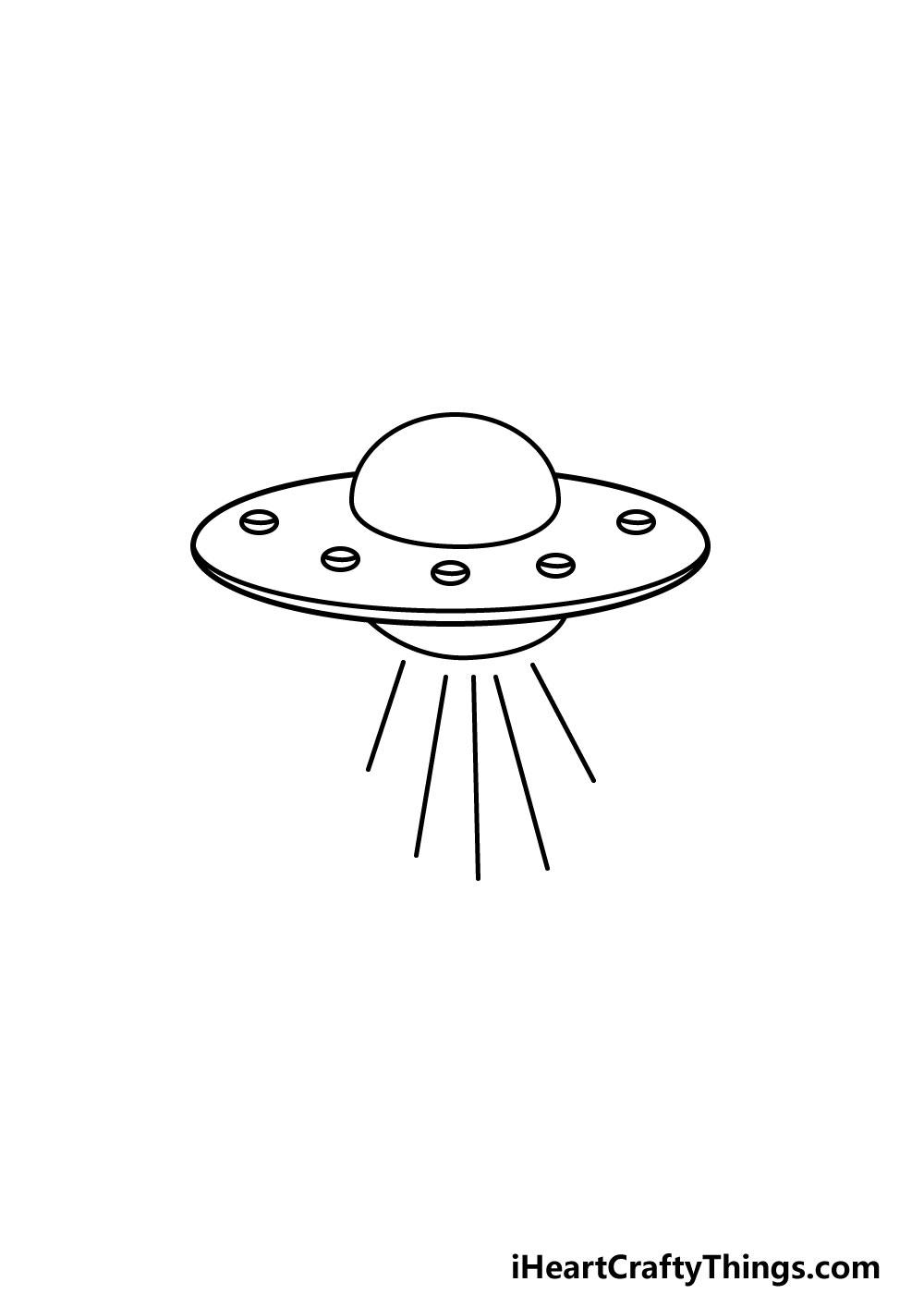 drawing a UFO step 5