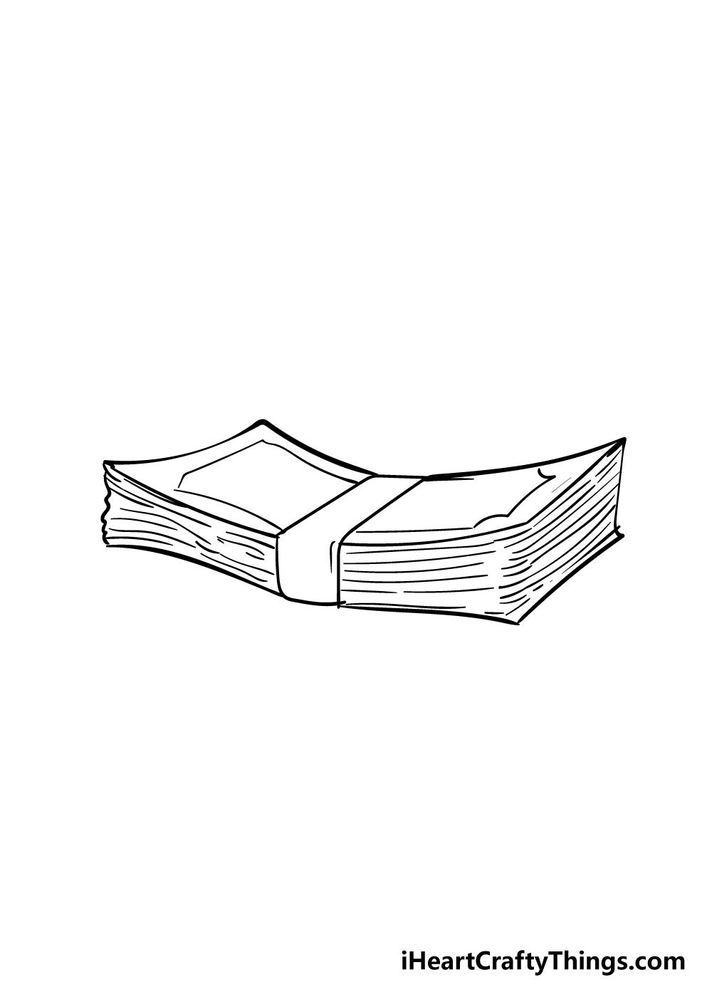 money drawing step 6