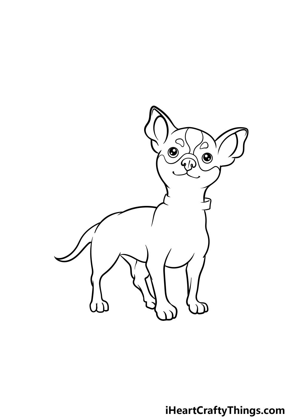 drawing a chihuahua step 6