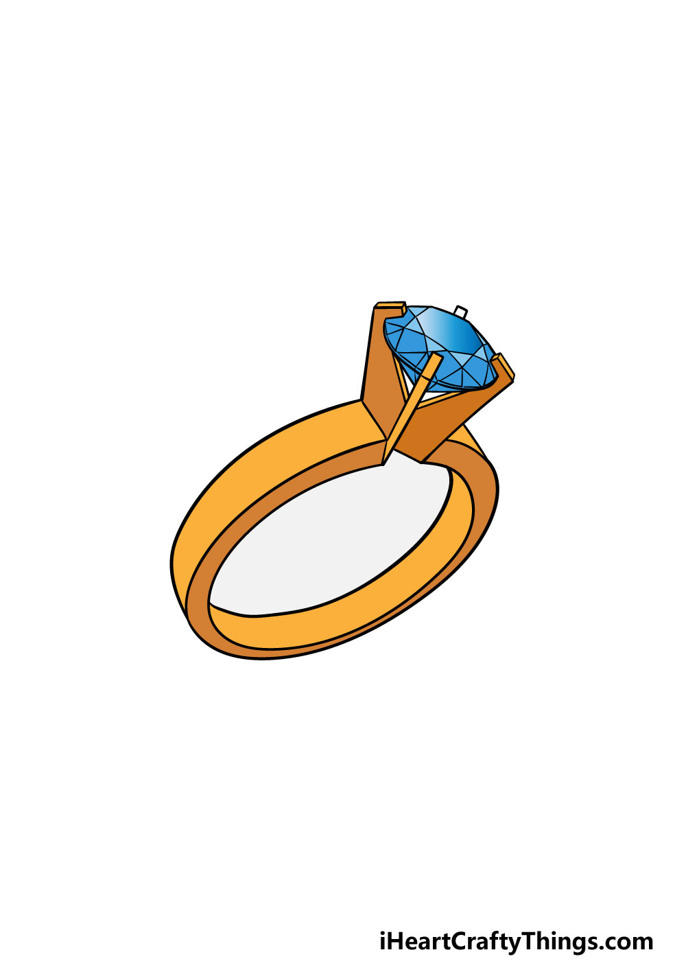 drawing a ring step 6
