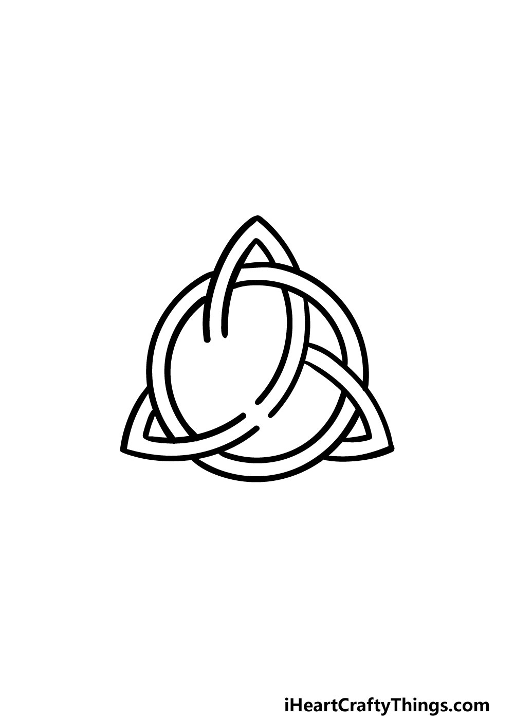 drawing a celtic knot step 7