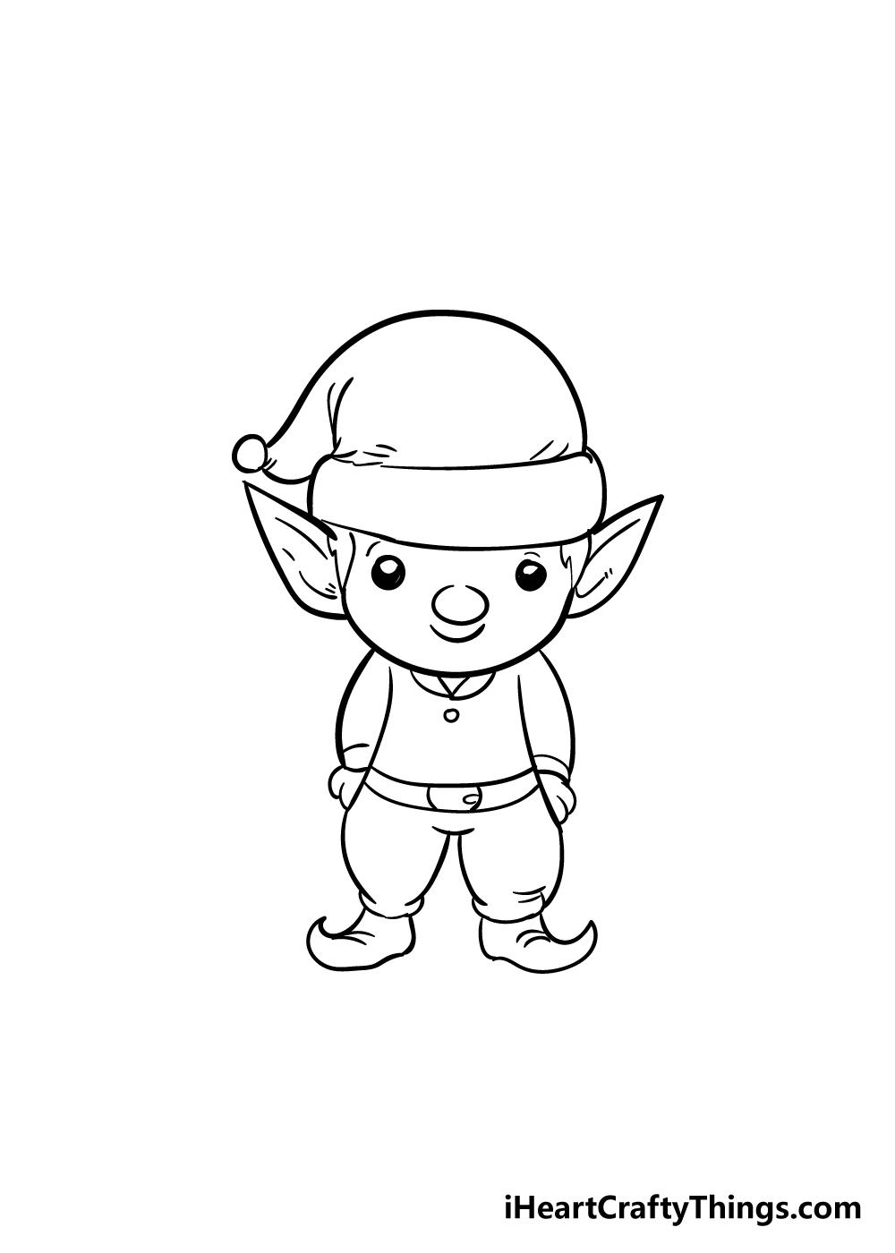 elf drawing step 7