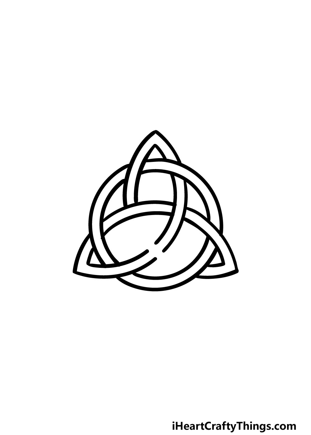 drawing a celtic knot step 8