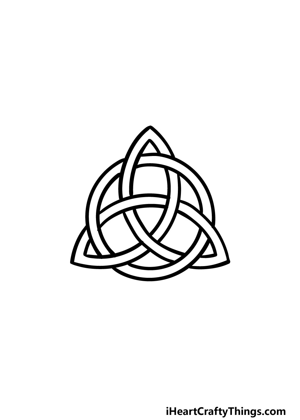drawing a celtic knot step 9