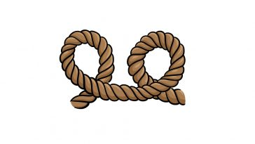 how to draw rope image