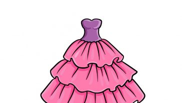 how to draw ruffles image