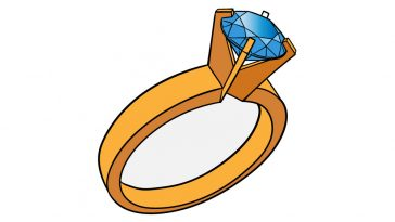 how to draw a ring image