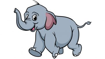 how to draw a baby elephant image