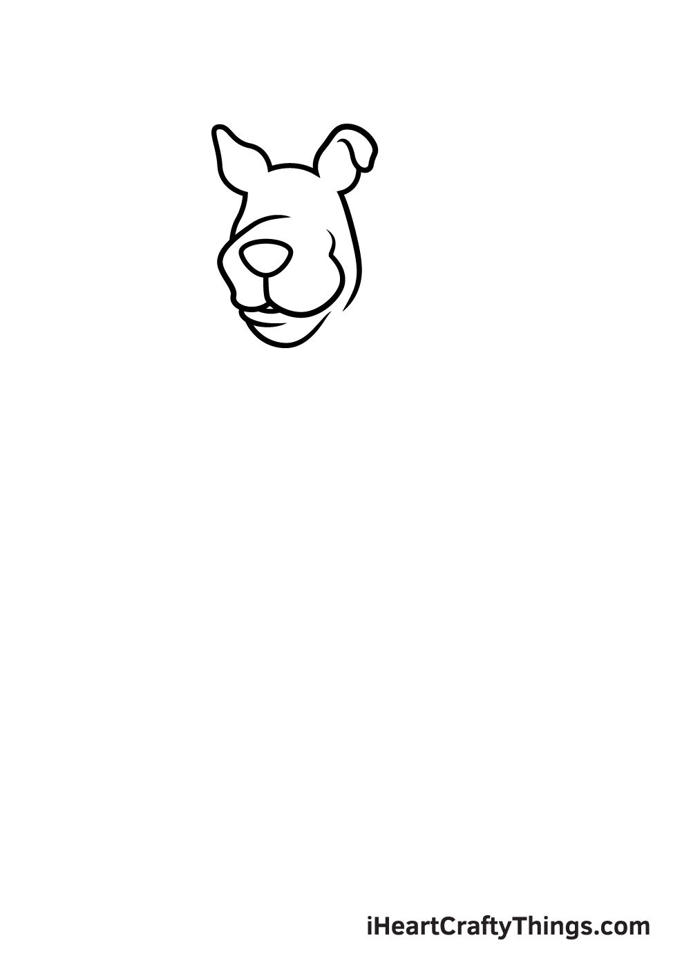 drawing Scooby-Doo step 3