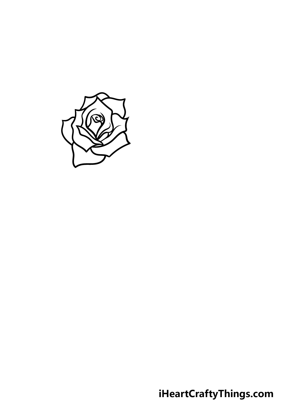 how to draw mother's day step 1