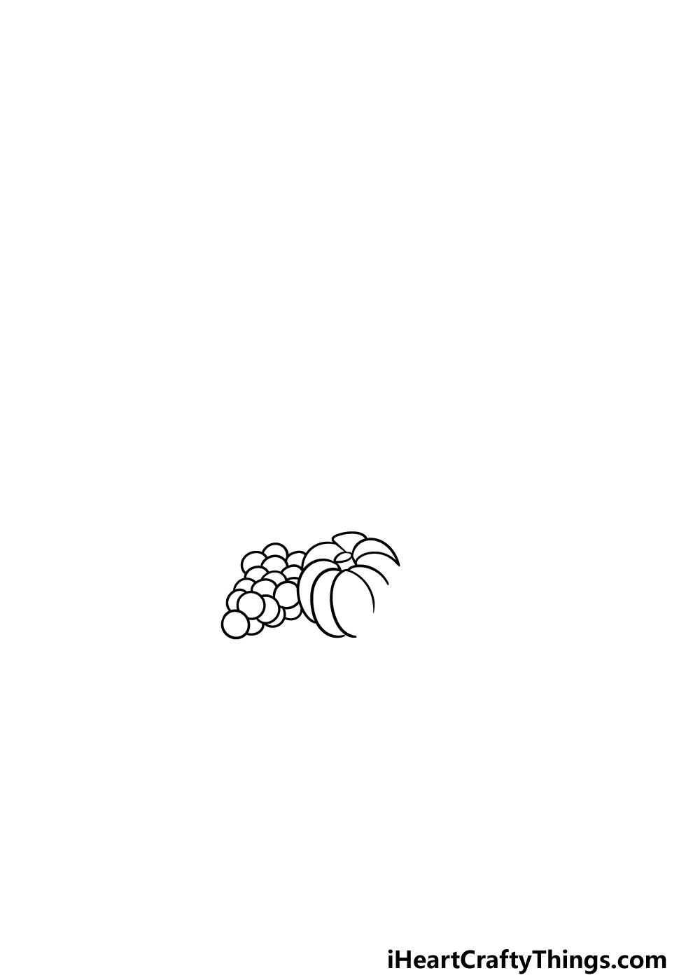 drawing Thanksgiving step 1