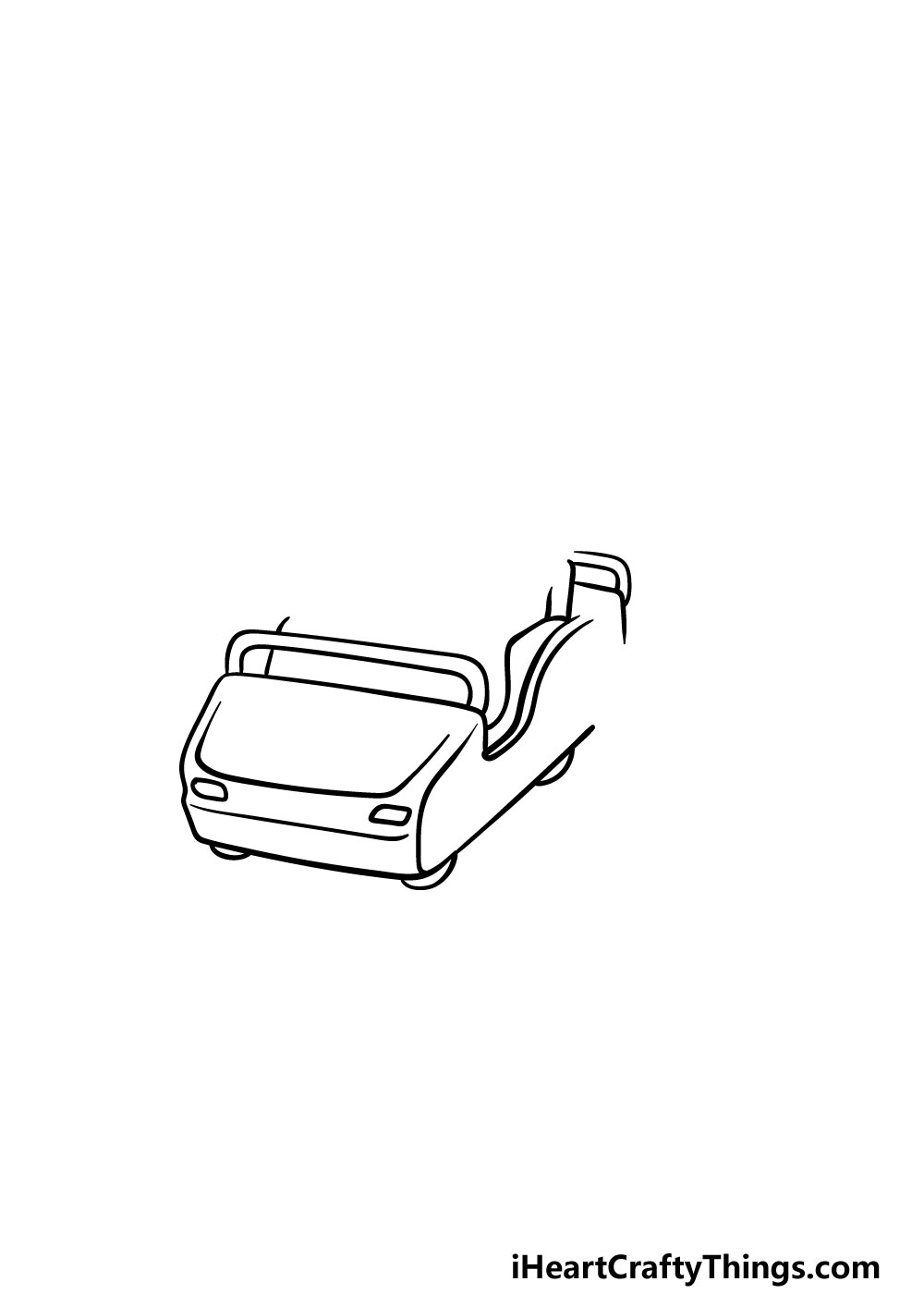drawing a roller coaster step 1