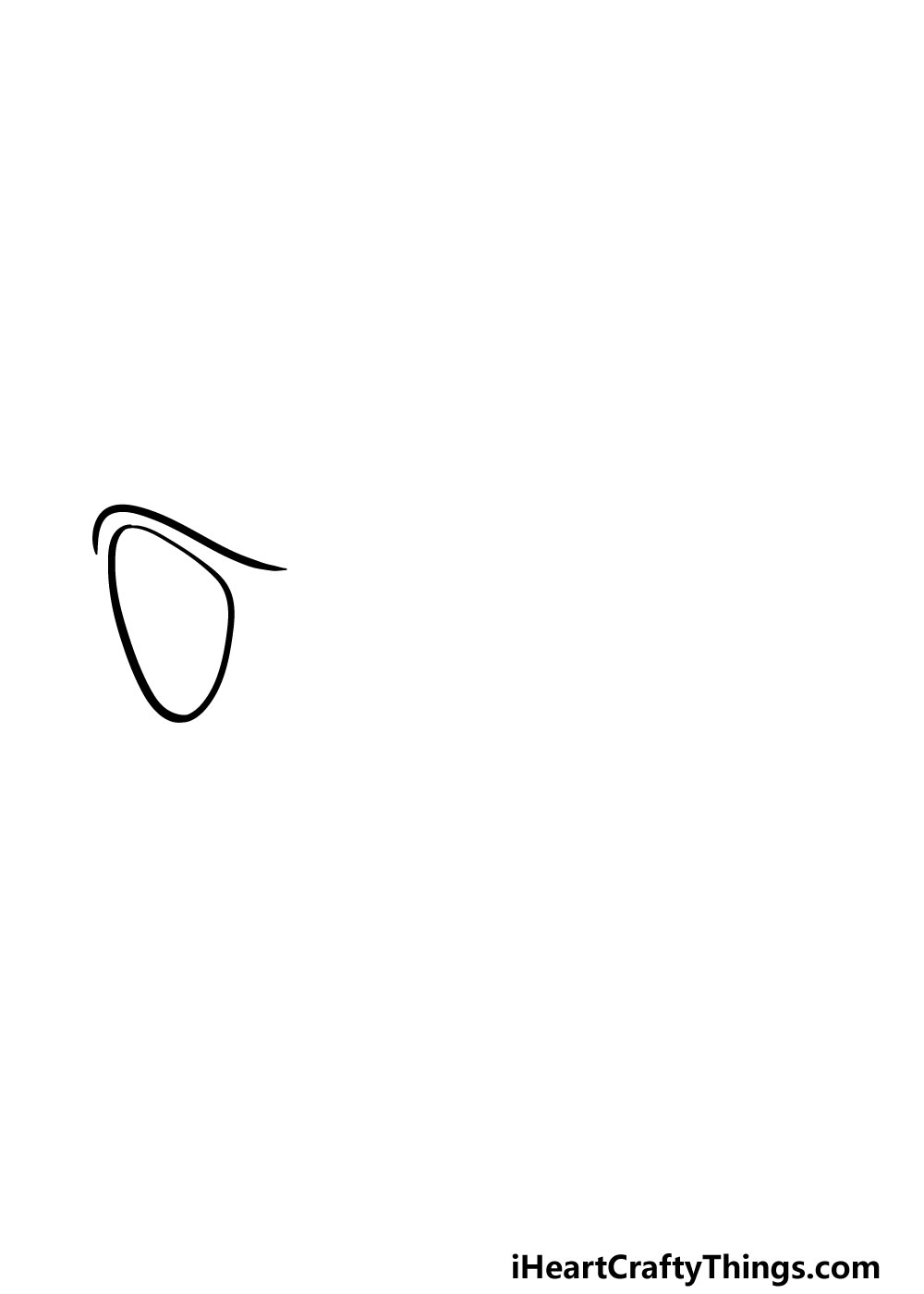 drawing sunglasses step 1