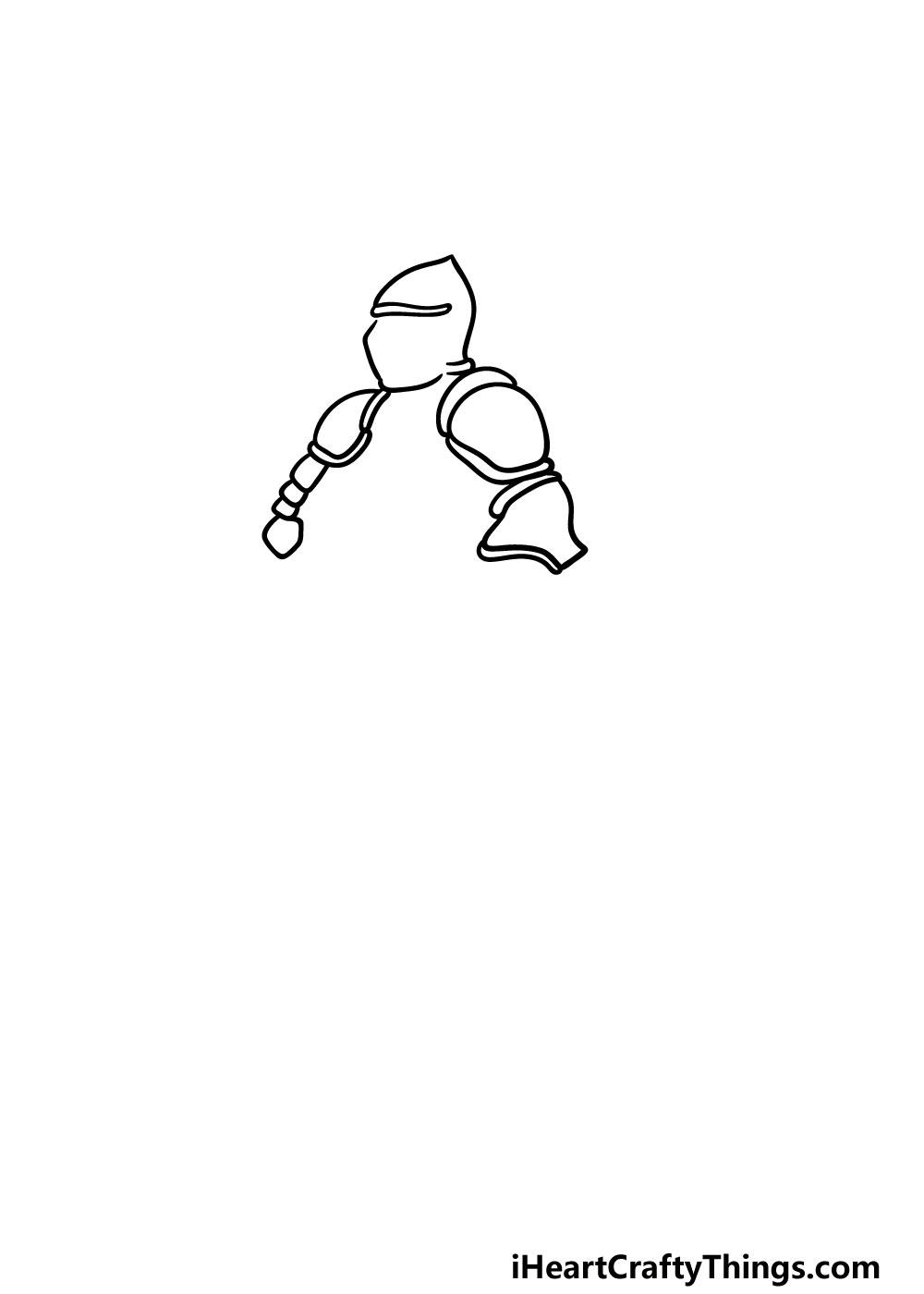 drawing armor step 1