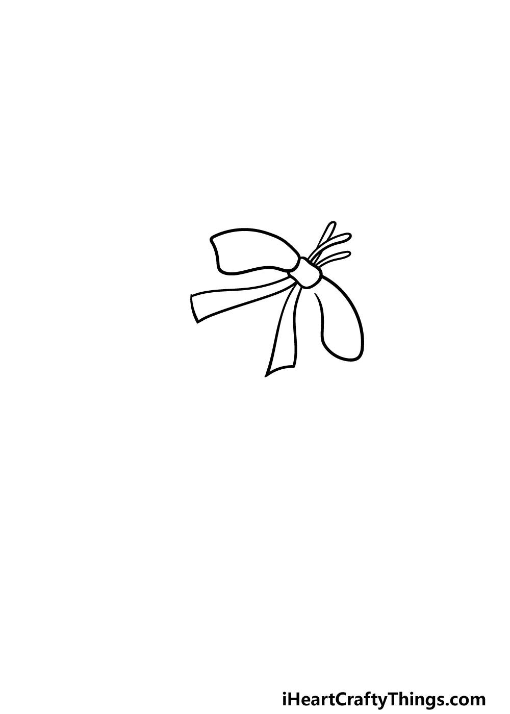 drawing a mistletoe step 1