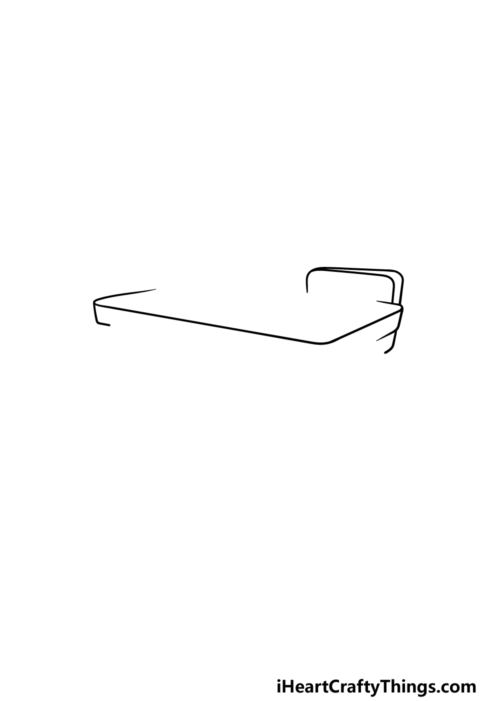 drawing a desk step 1