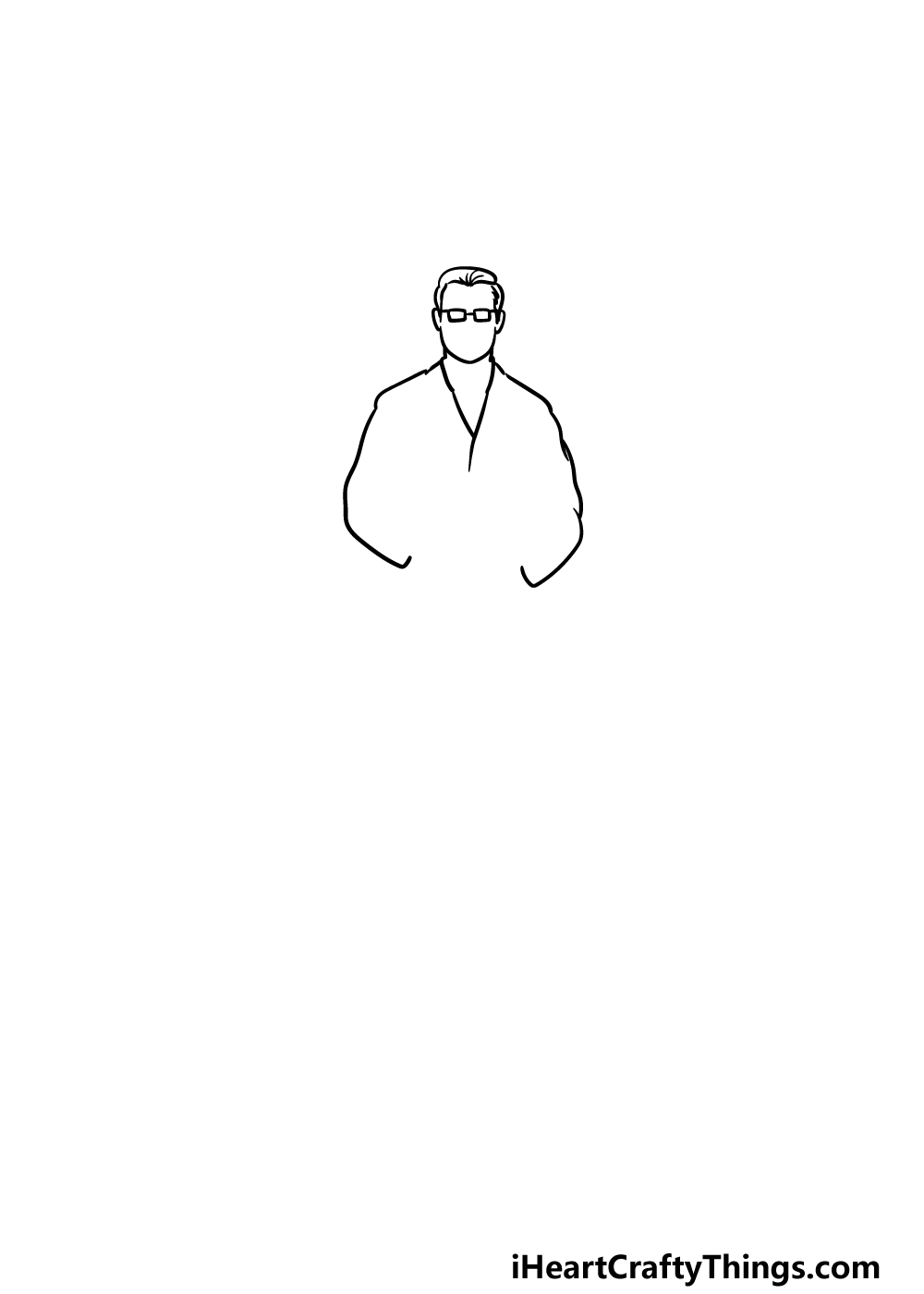 drawing a doctor step 1