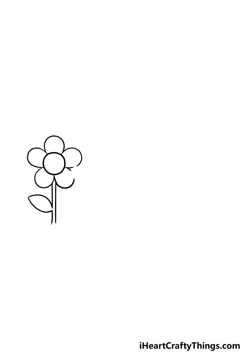 drawing a garden step 1