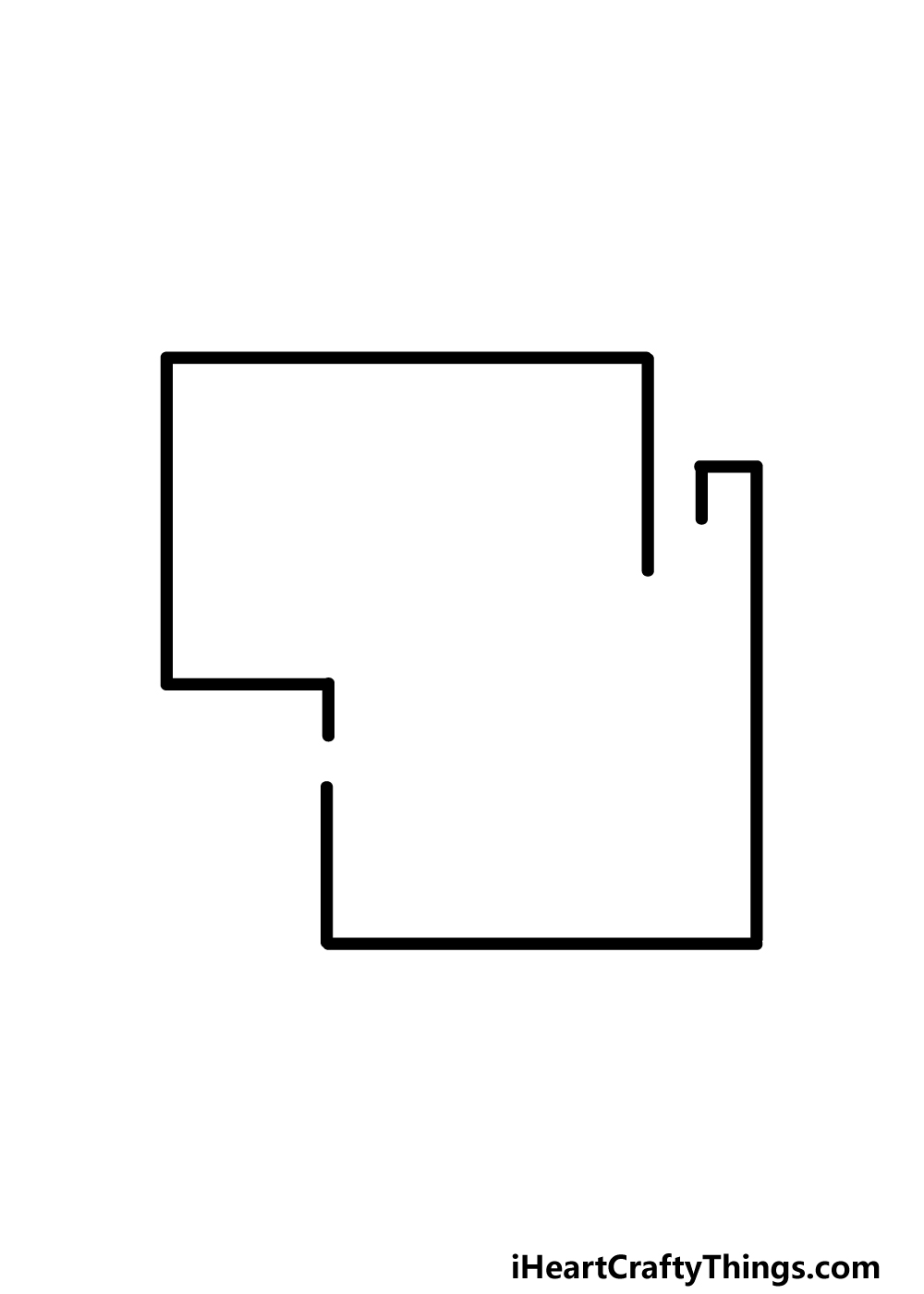 drawing a maze step 1