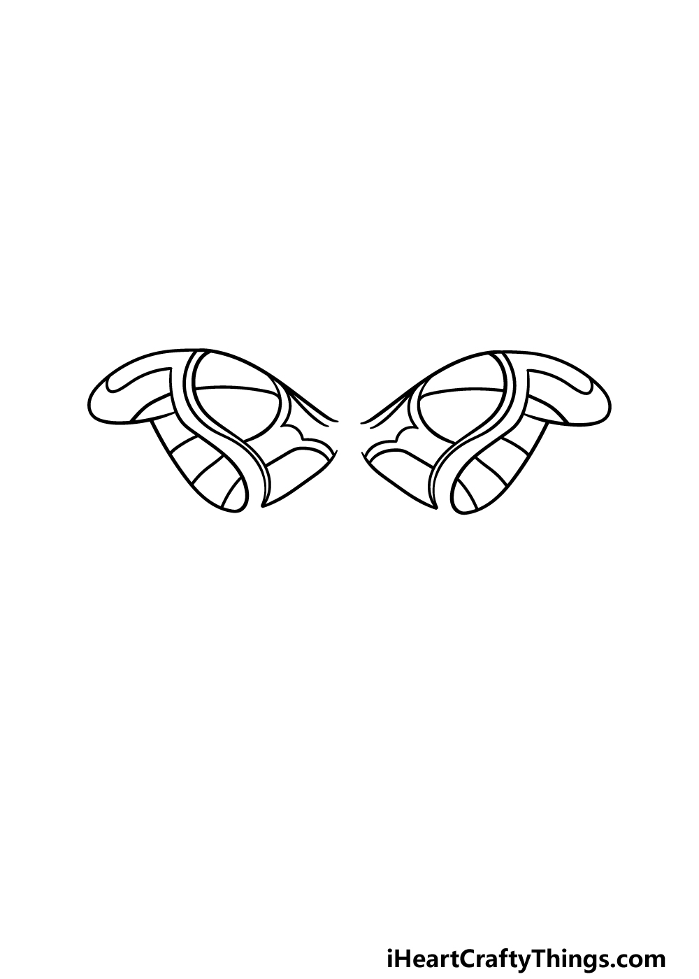 drawing a moth step 2