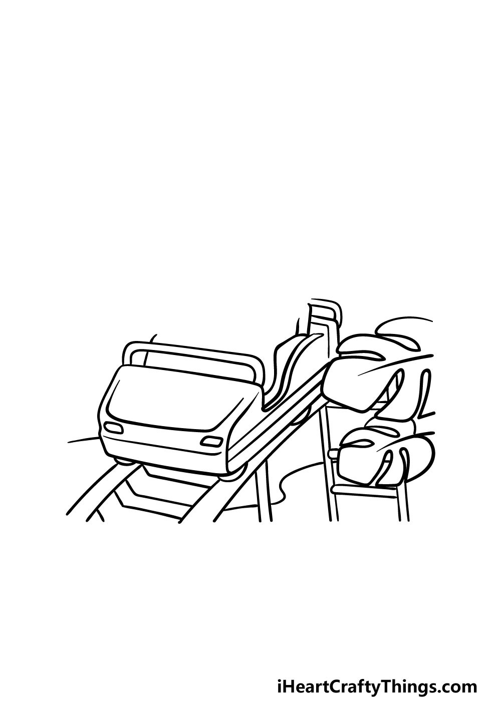 drawing a roller coaster step 2