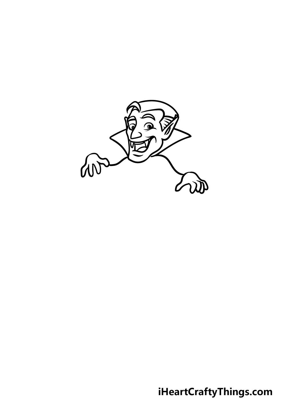 drawing a vampire step 2