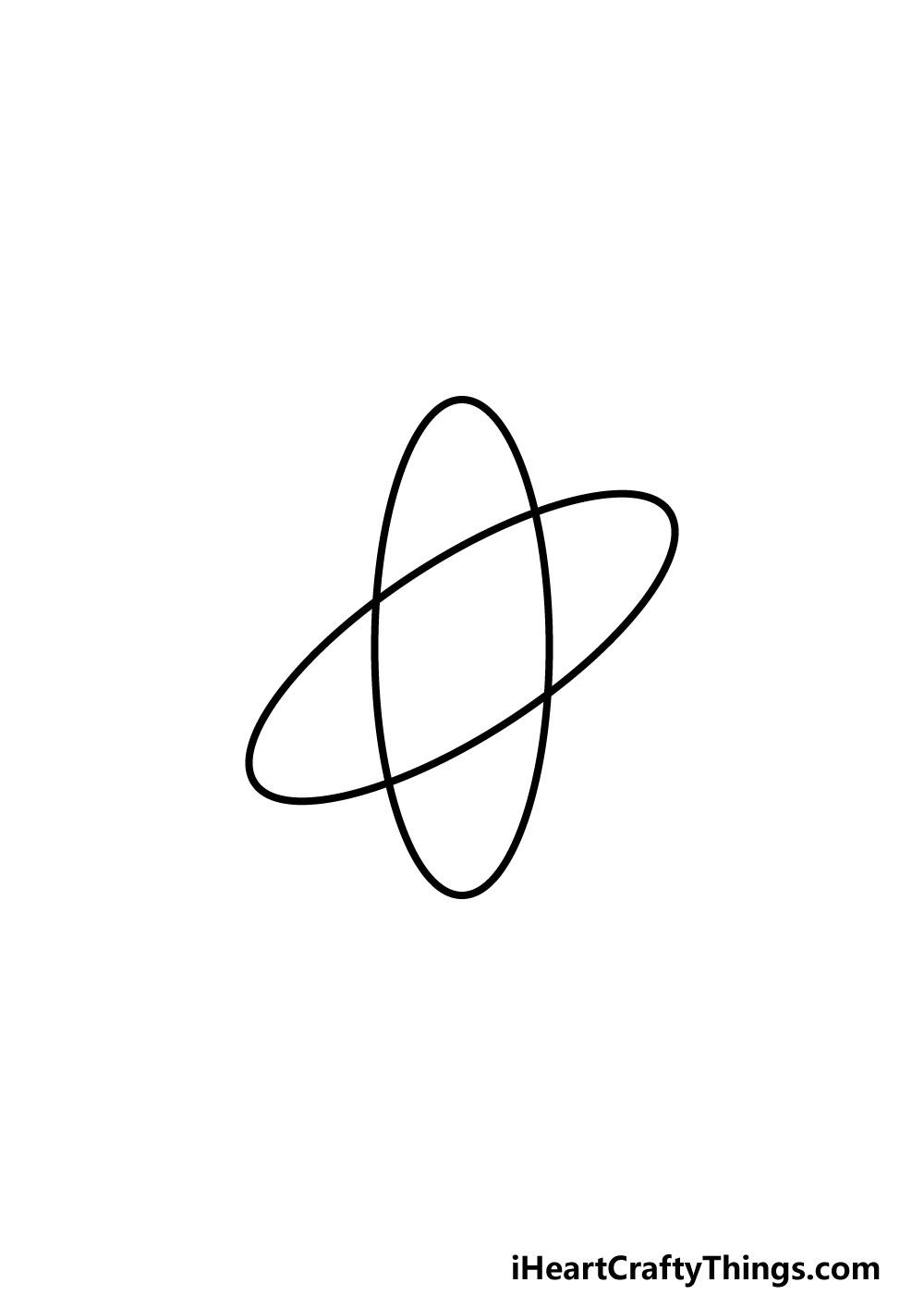 drawing an atom step 2