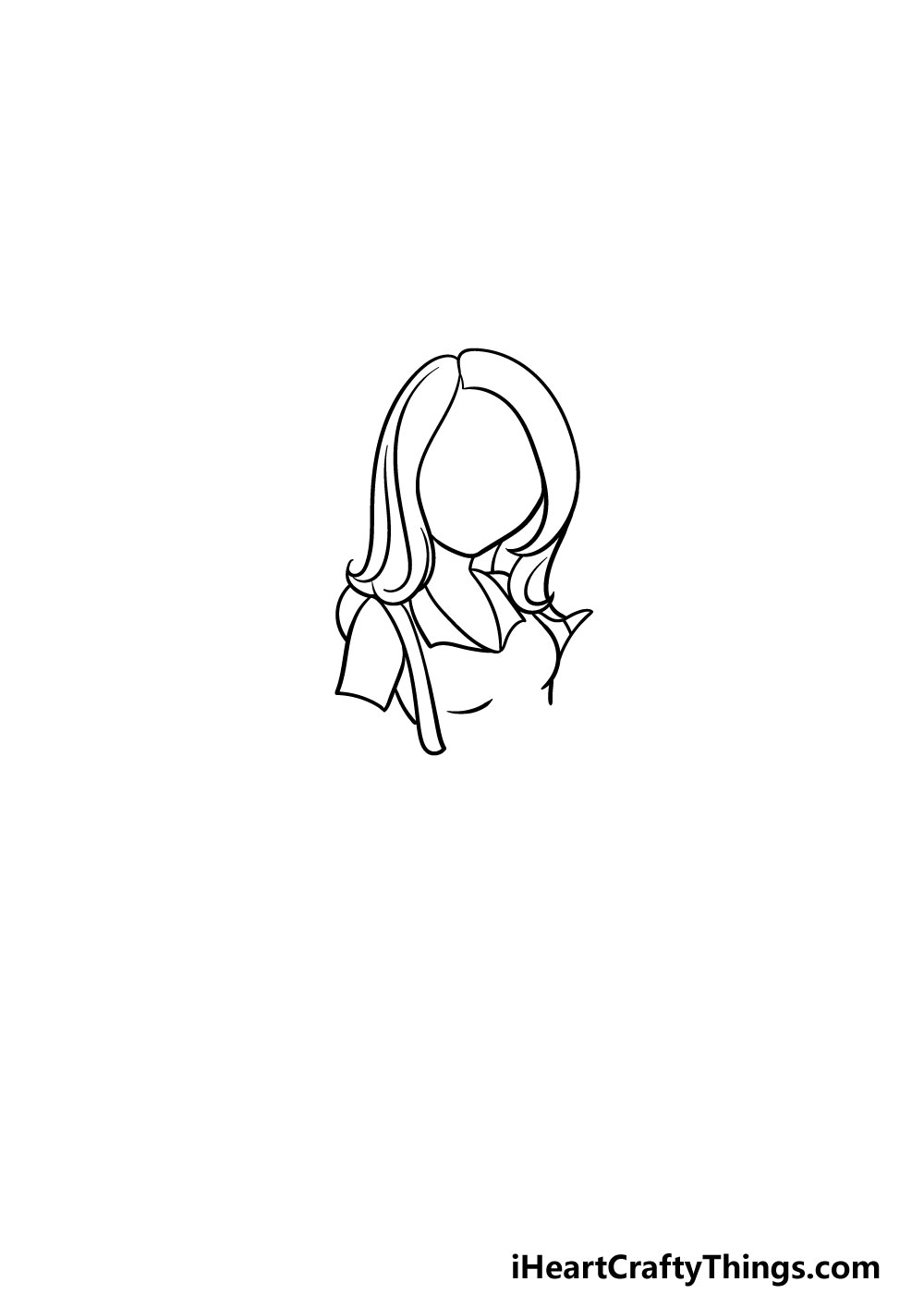 drawing a mom step 2