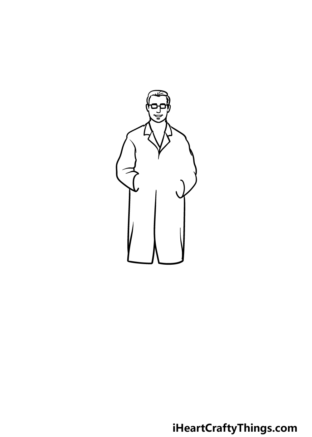 drawing a doctor step 2