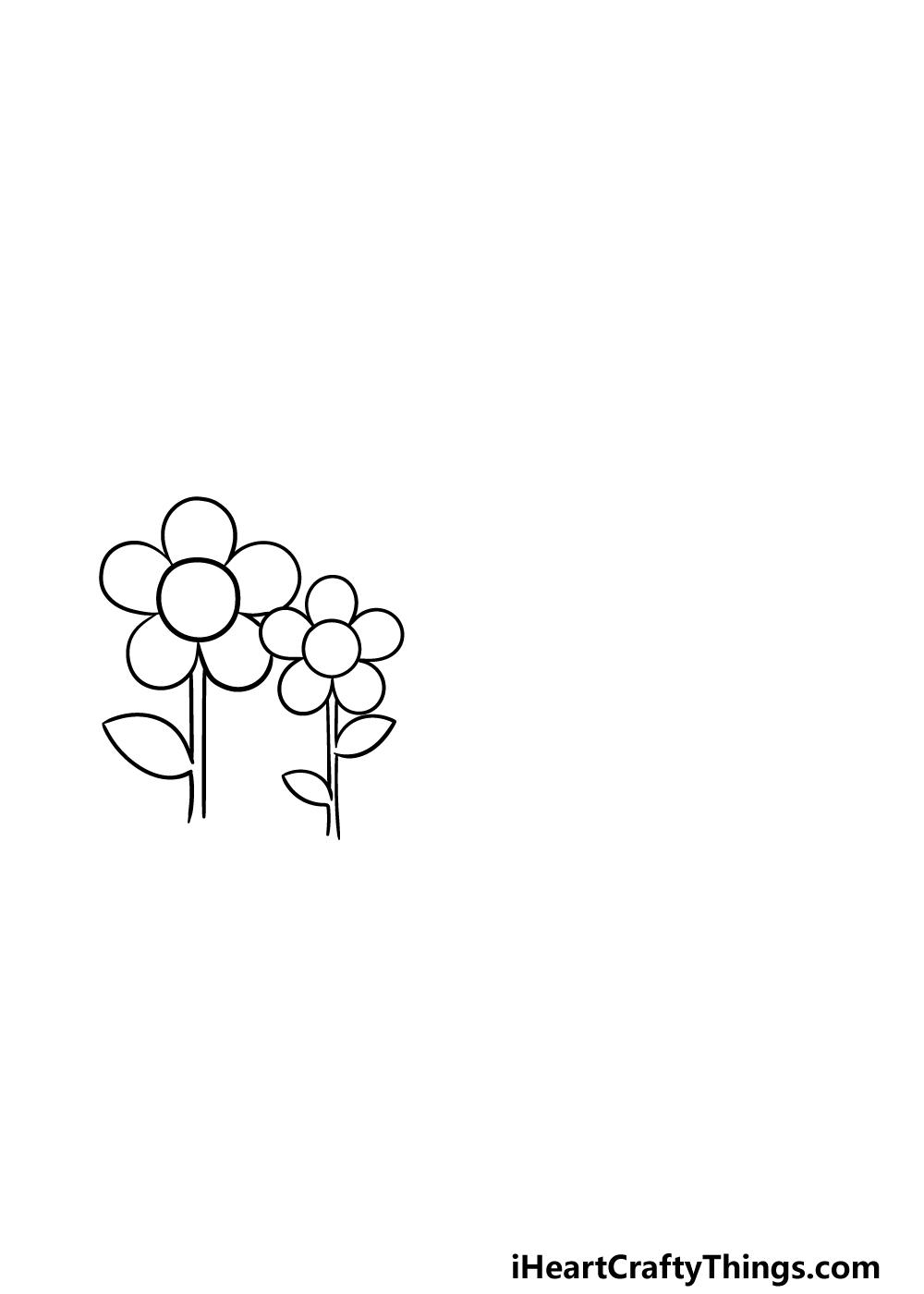 drawing a garden step 2