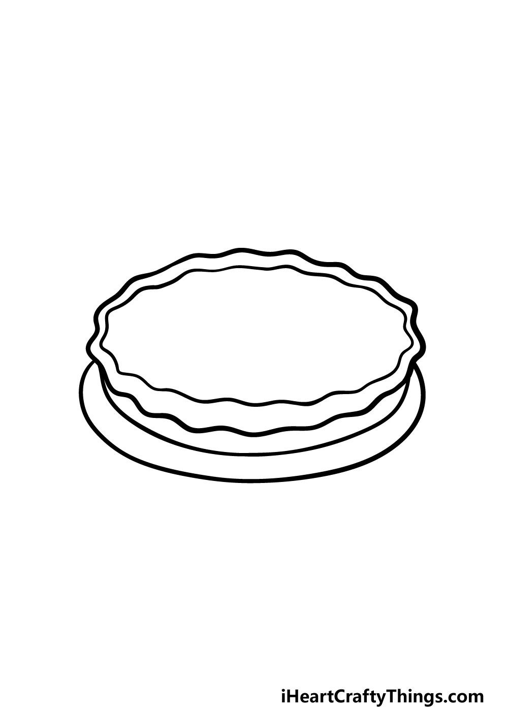 drawing a pie step 2