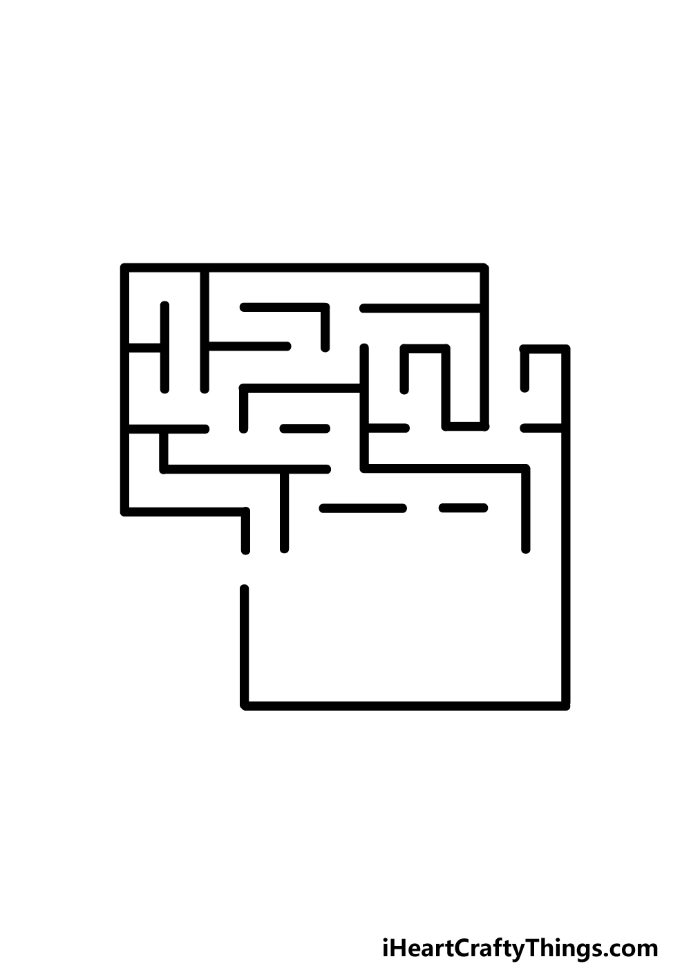 drawing a maze step 2