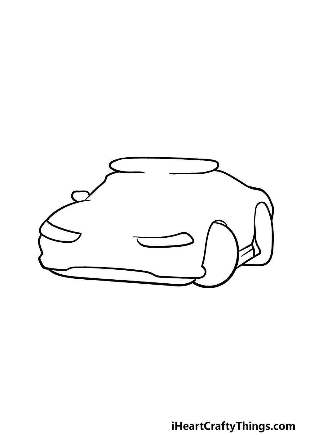 drawing a police car step 2