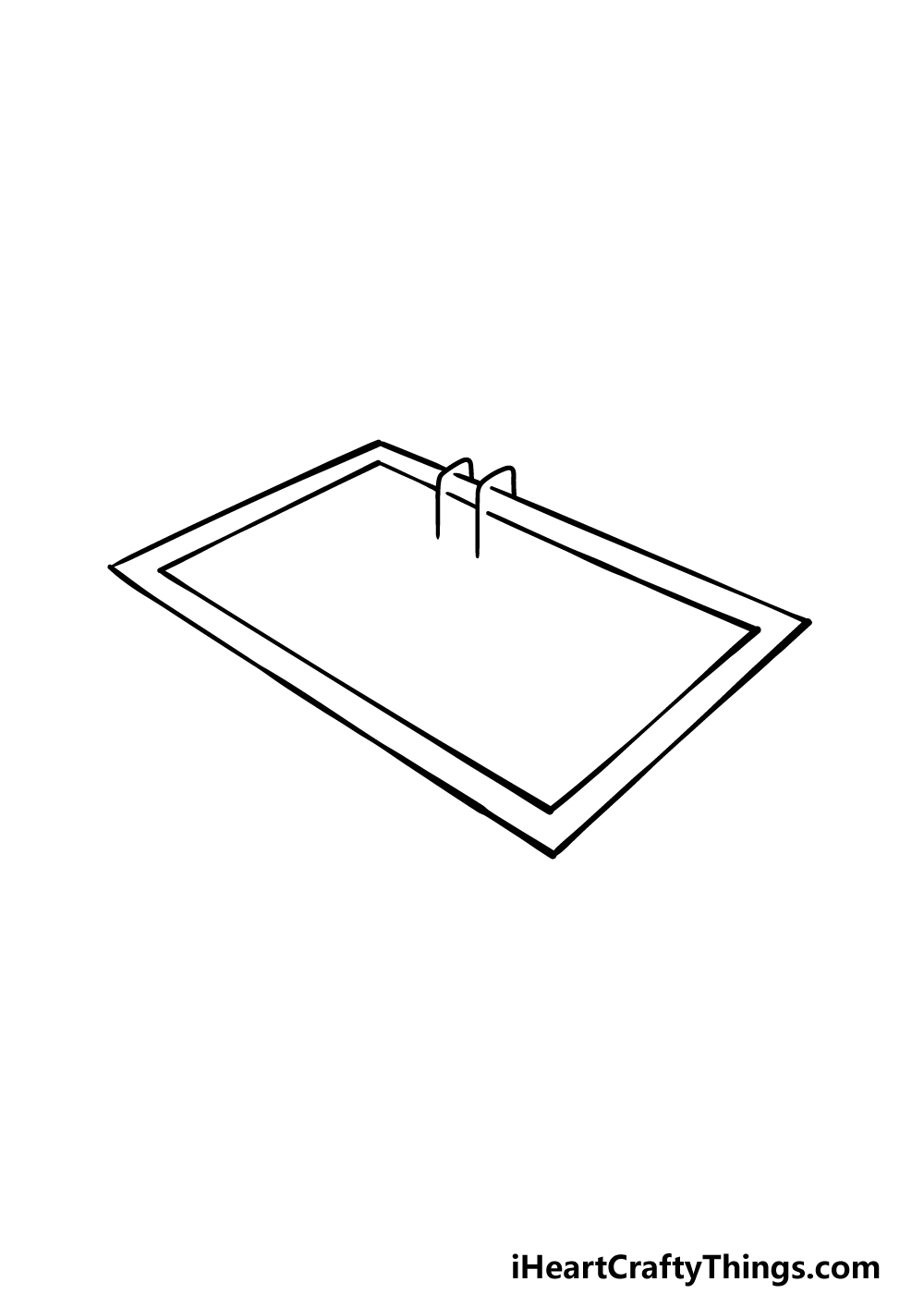 drawing a pool step 2