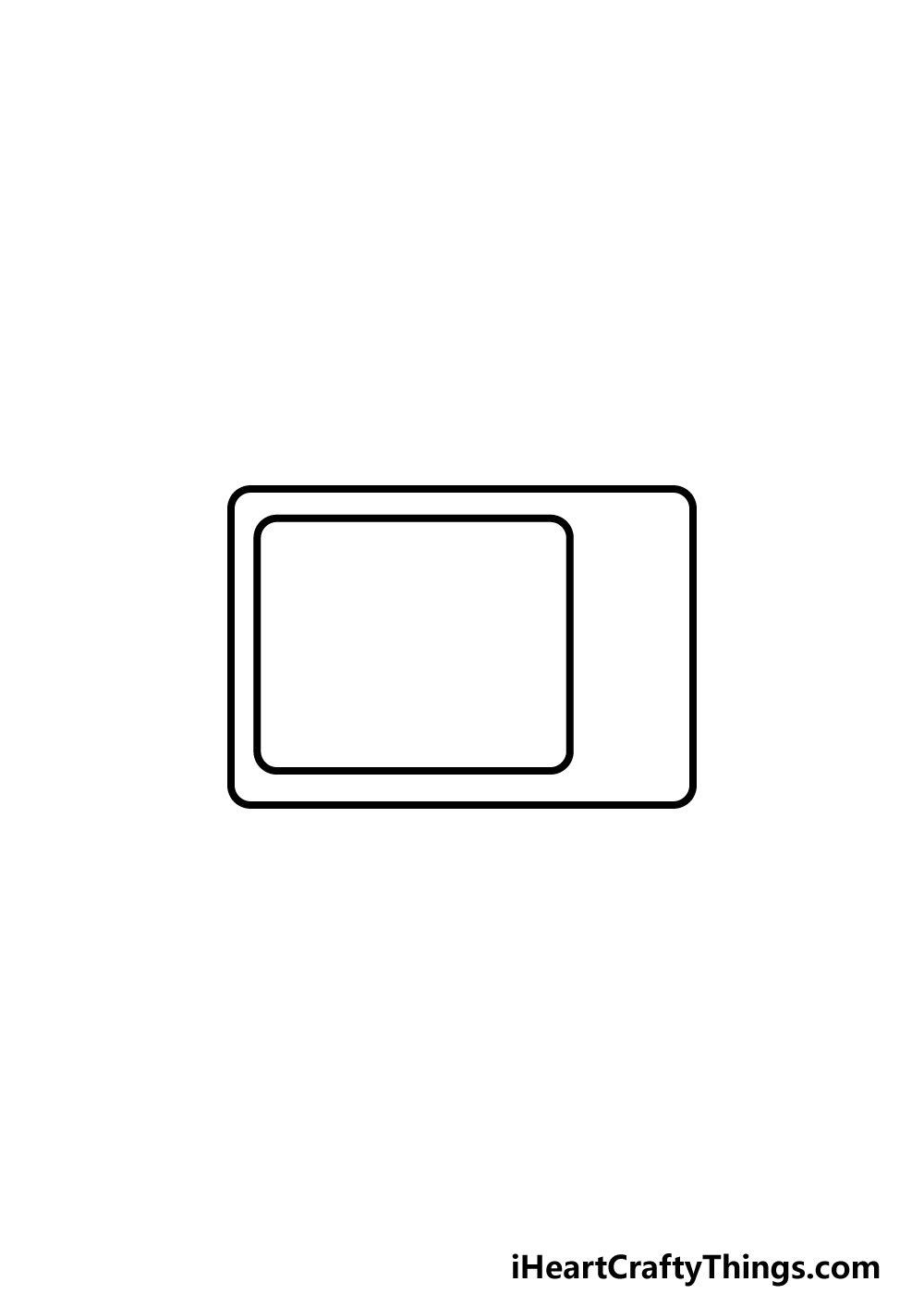drawing a TV step 2