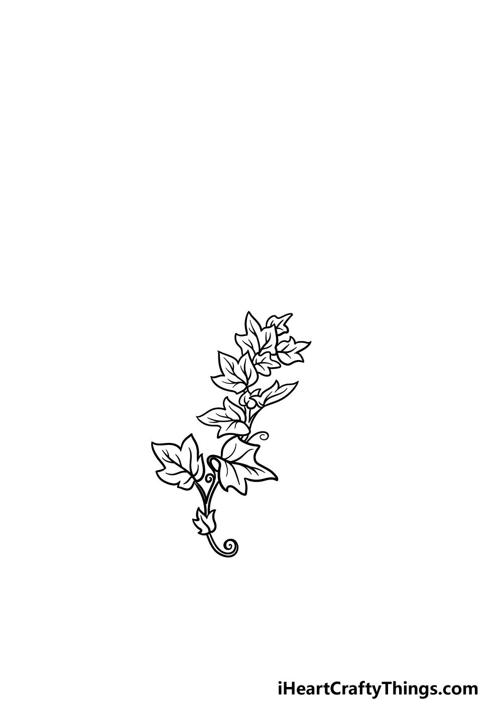 drawing vines step 3