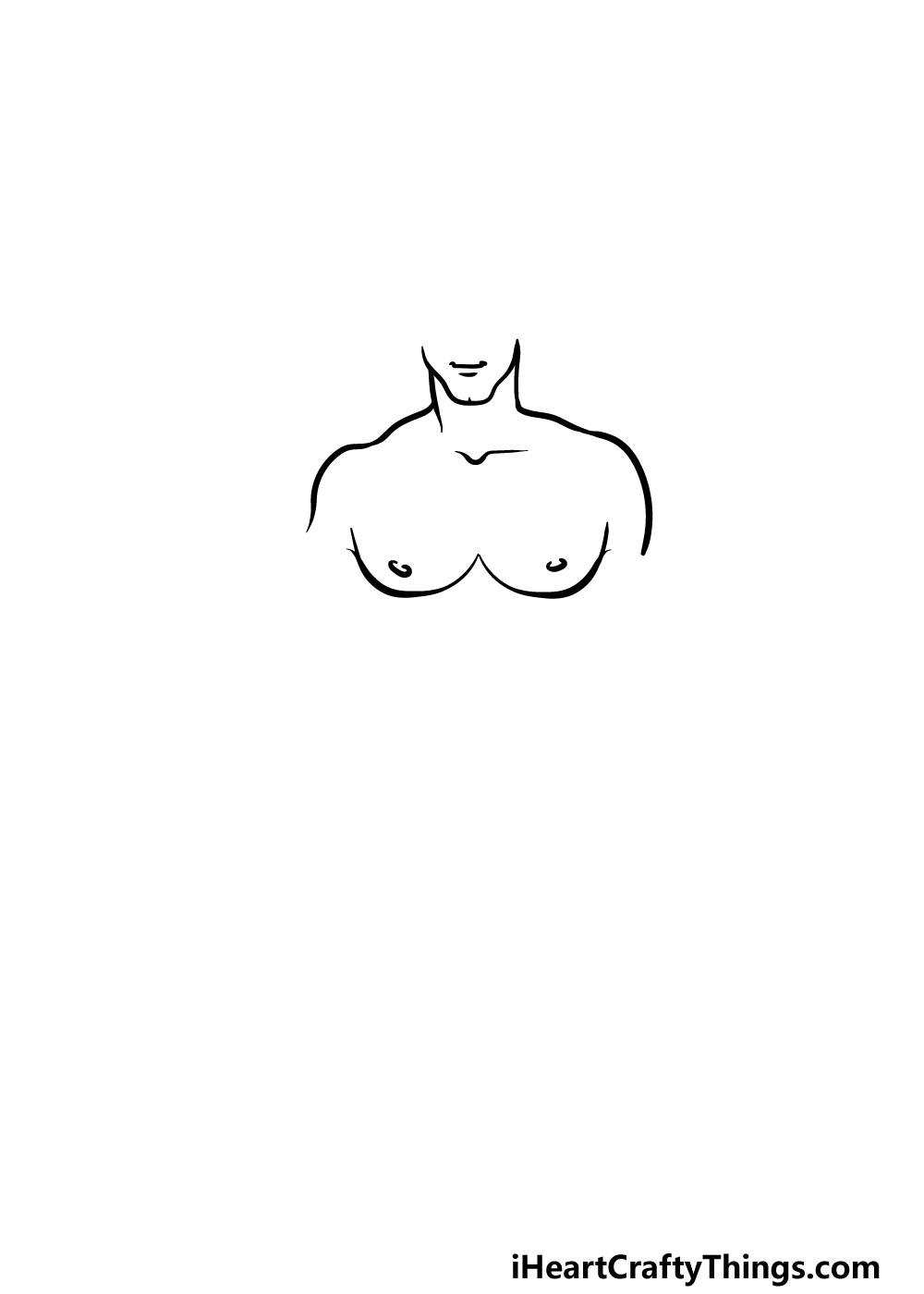 drawing torso step 3