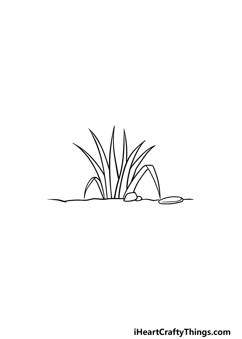 drawing grass step 3