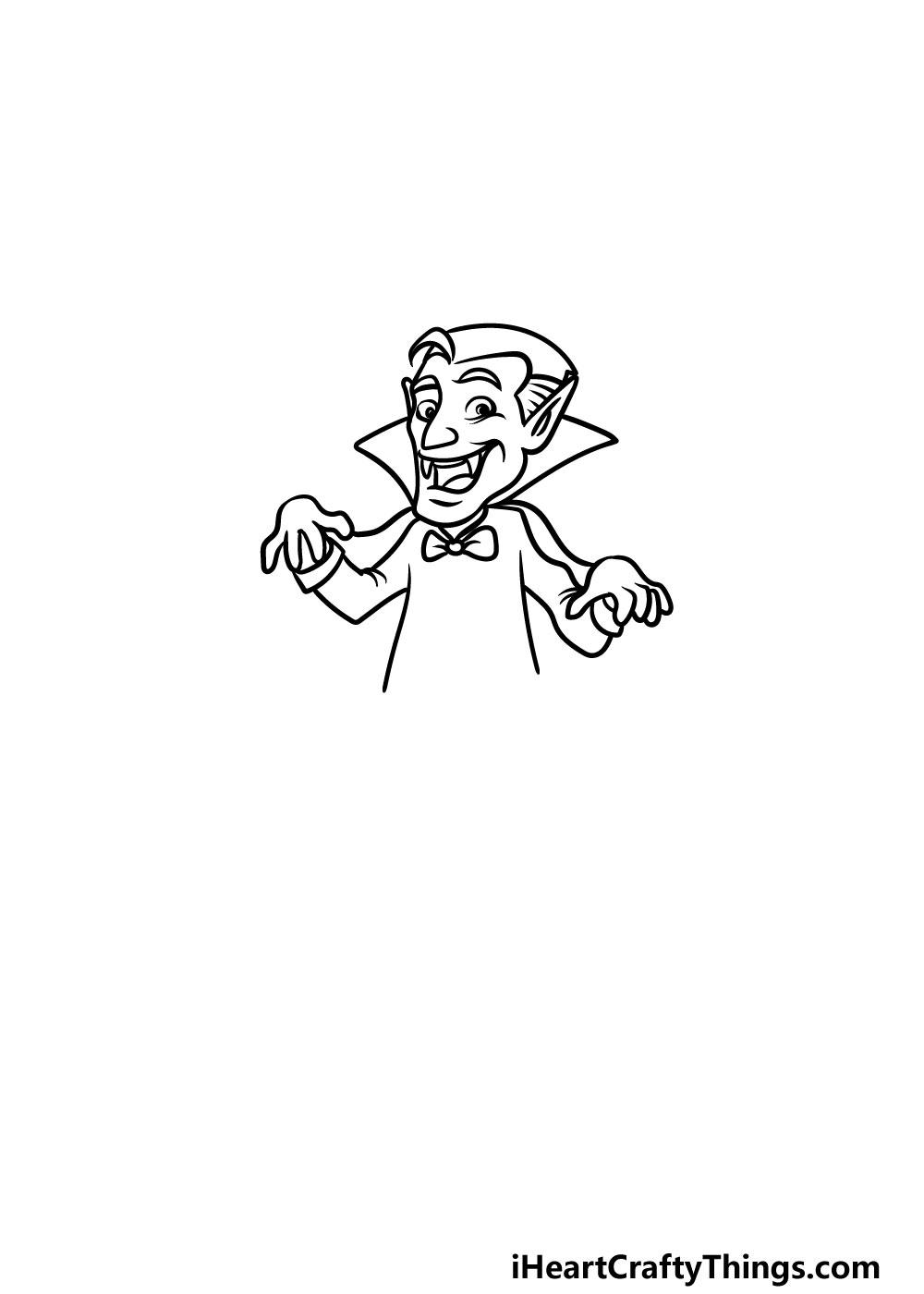 drawing a vampire step 3