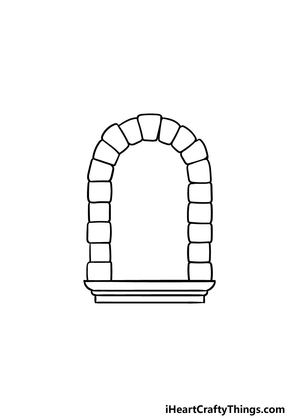 drawing a window step 3