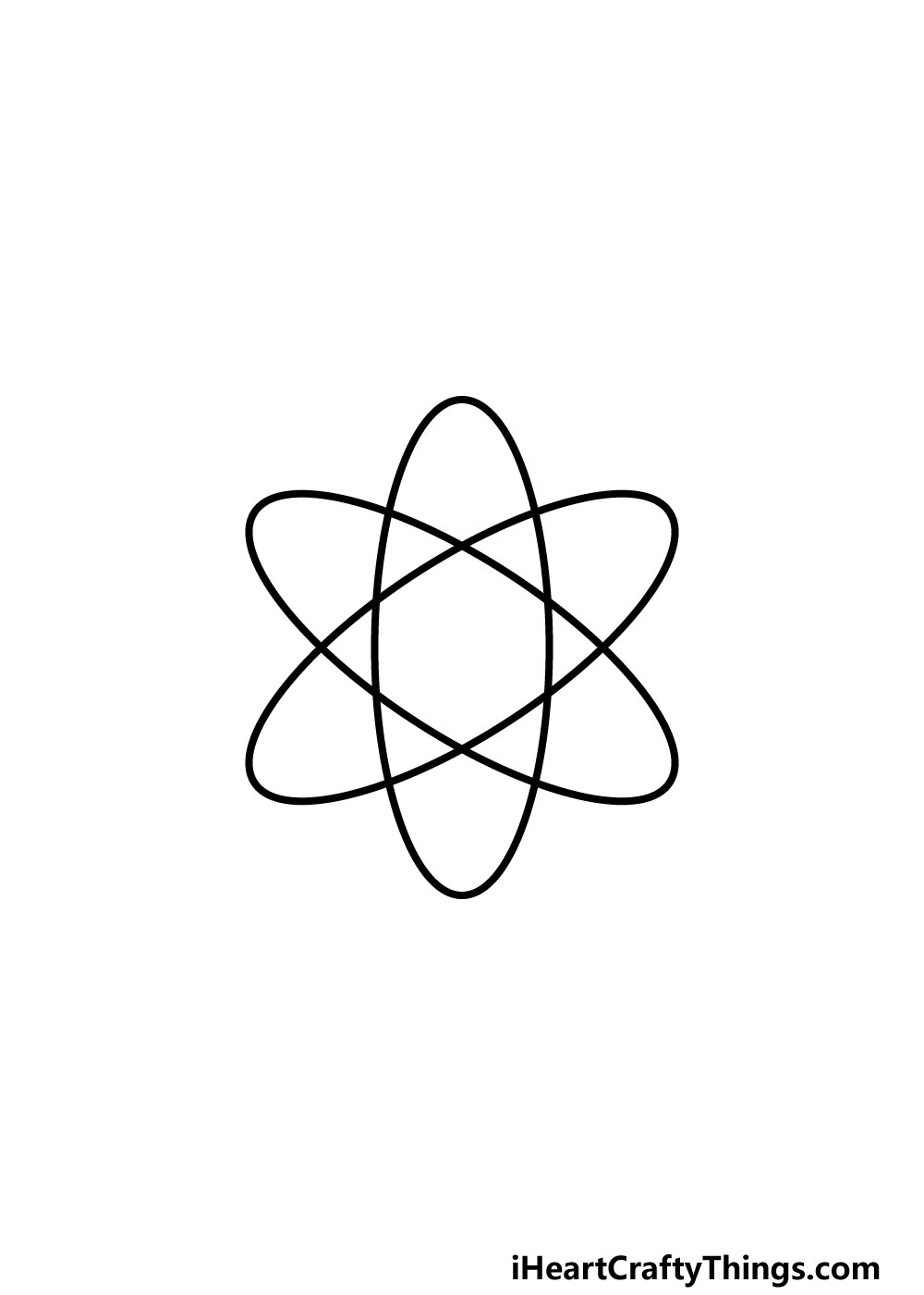 drawing an atom step 3