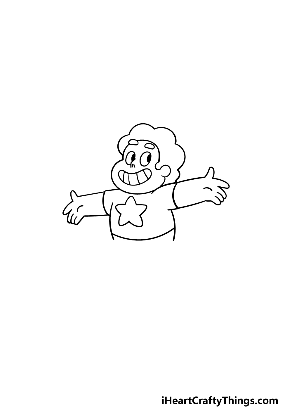 drawing steven universe step 3