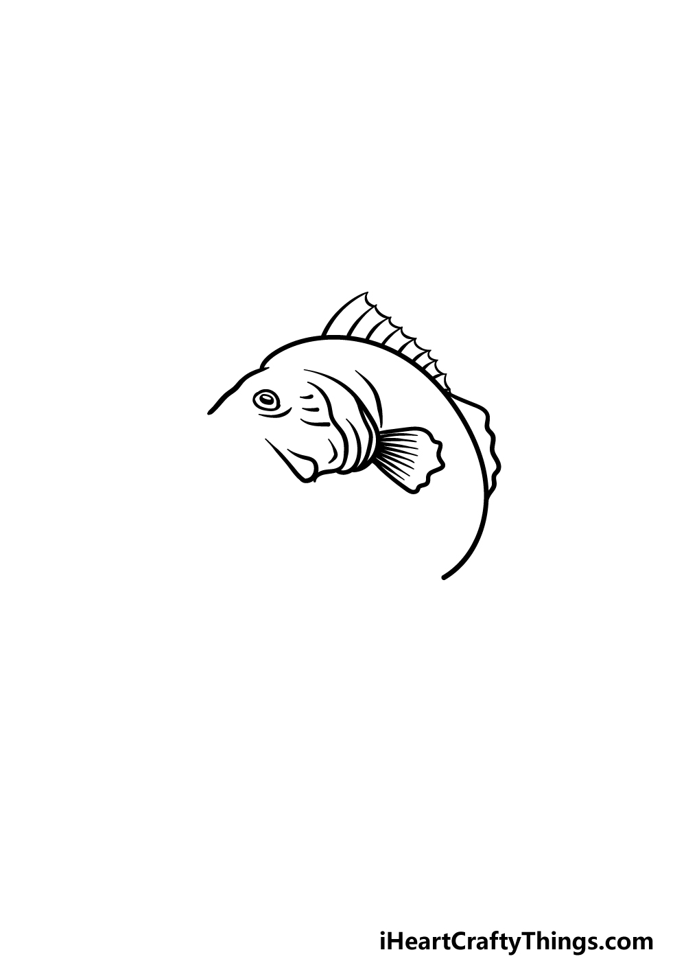 drawing a bass step 3