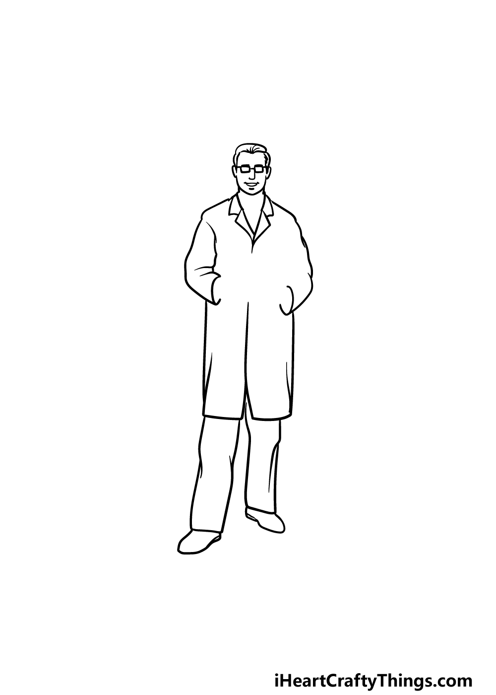 drawing a doctor step 3