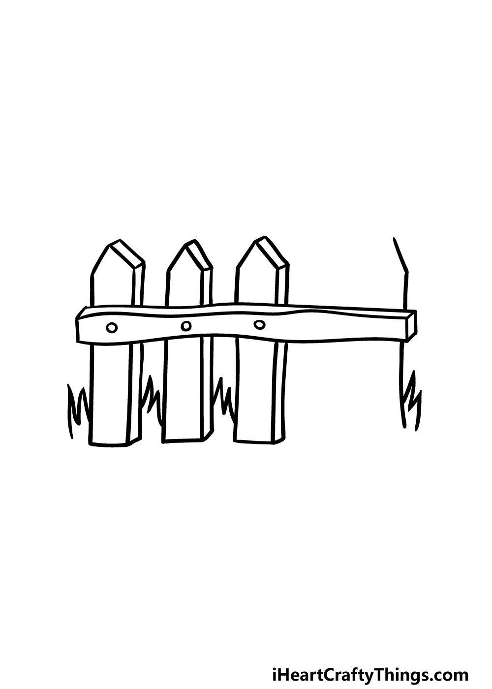 drawing fence step 3