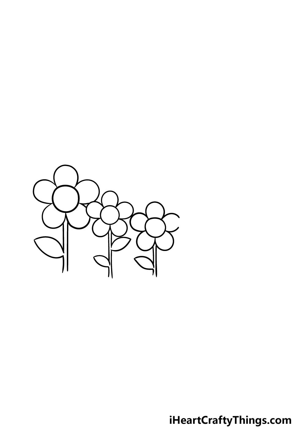 drawing a garden step 3