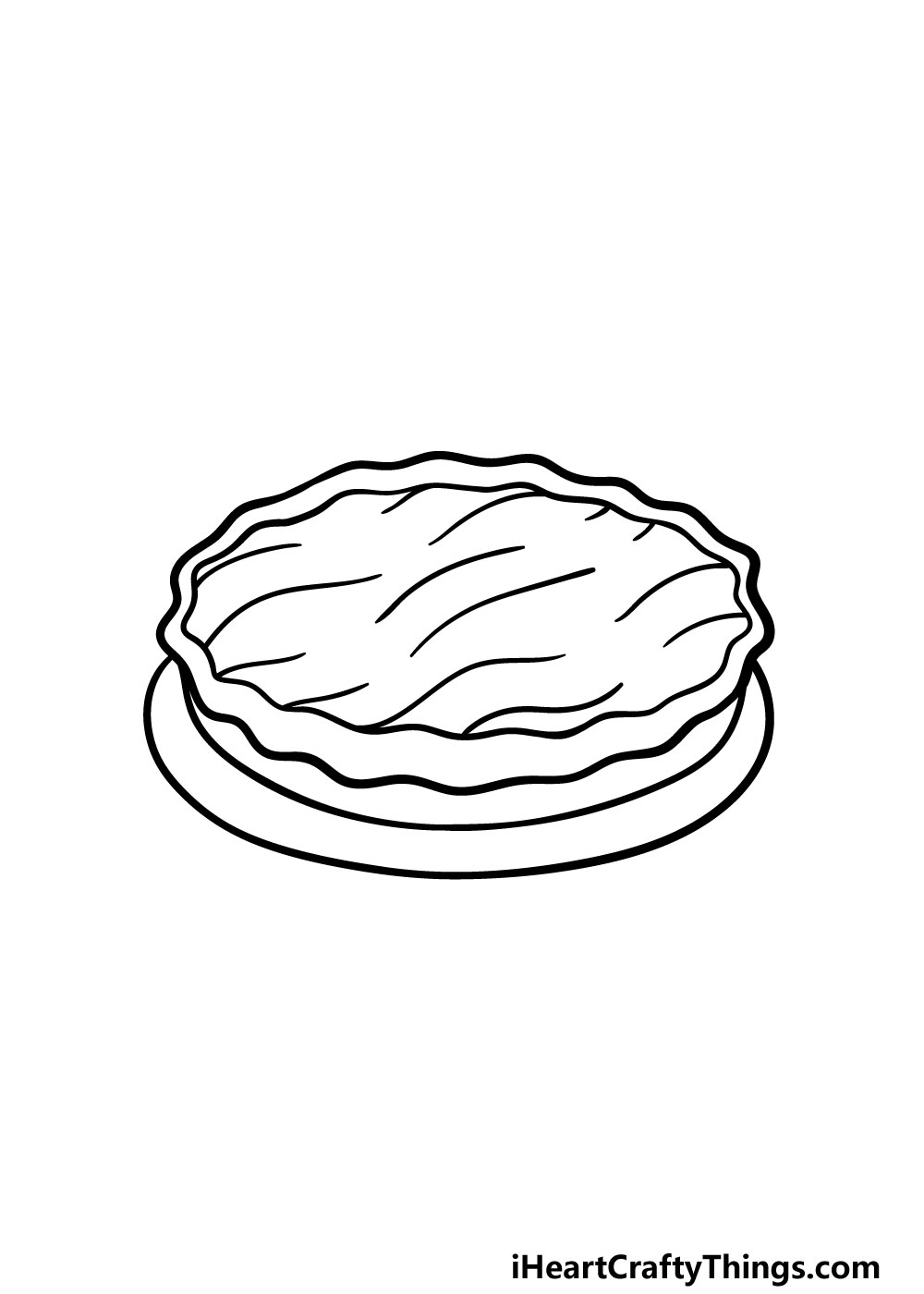 drawing a pie step 3